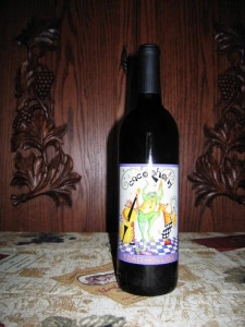 Toad Hollow Cacaphony Zinfandel Paso Robles (2007)