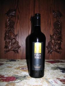 Four Vines Old Vine Cuvee Zinfandel California (2007)