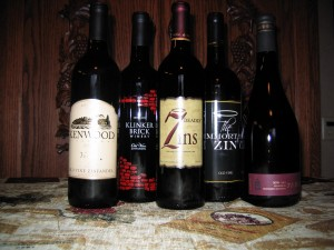 October 2012 Lodi Zinfandel Tasting Preview