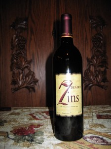 Michael & David Seven Deadly Zins Zinfandel Lodi (2008)
