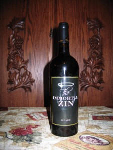 Peirano Estate The Immortal Zin Zinfandel Lodi (2008)