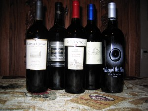 Sonoma County Zinfandel November 2012 Tasting Preview