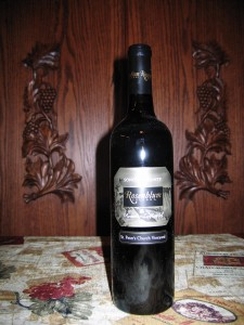 Rosenblum St. Peter's Church Vineyard Zinfandel Sonoma County (2007)