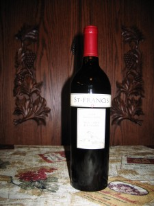 St. Francis Old Vines Zinfandel Sonoma County (2008)